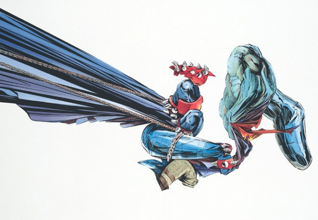 Superheroes: Icons of Good, Evil & Everything in Between exhibition image